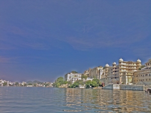 City palace from Lake Pichola